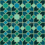 Marokko Petrol Designmuster