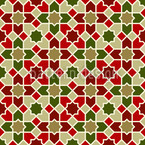 Marocco X-Mas Seamless Vector Pattern Design