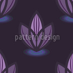 Lotus Lilaq Seamless Vector Pattern Design
