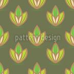 Small Lotus Seamless Vector Pattern Design