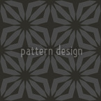 Stella Black Seamless Vector Pattern Design
