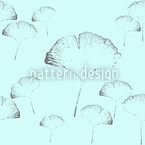 Ginkgo Dream Seamless Vector Pattern Design