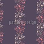 Spätblüher Nahtloses Vektor Muster