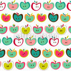 Apple Fresh Pattern Design