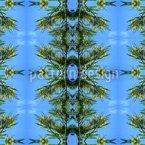 Im Blauen Pinienwald Muster Design