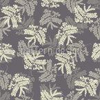 Akazienblätter Vektor Muster