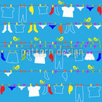 Washing Day Pattern Design