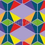 Harlequin Seamless Vector Pattern Design