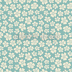 Bride Flowers Seamless Pattern