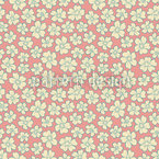 Bride Roses Seamless Vector Pattern