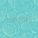 Frutti Di Mare Seamless Vector Pattern Design