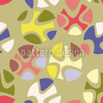 Candy Green Repeating Pattern