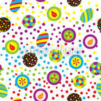 Candy Time Seamless Vector Pattern Design