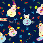 Sweet Snowmen Design Pattern