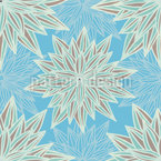 Fantasy Blue Vector Ornament