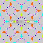Мозаика звезд Бесшовный дизайн векторных узоров