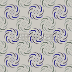 Swirls On Grey Design de padrão vetorial sem costura