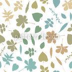 Blattpourri Muster Design