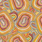 Bunte Verschlungene Linien Vektor Muster