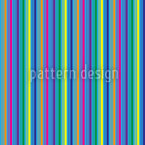 Colorful And Blue Stripes Seamless Vector Pattern Design
