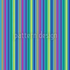 Farbige Und Blaue Streifen Nahtloses Vektormuster