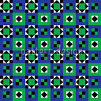 Ethnic Quilt Vector Pattern