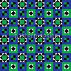 Ethno Quilt Vektor Muster