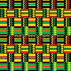Viva Africa Seamless Vector Pattern Design