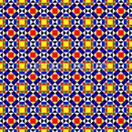Colorful Mosaic Repeat Pattern