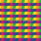 Colorama Dream Seamless Vector Pattern Design
