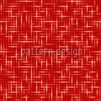 Textus Red Vector Ornament