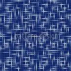 Textus Blau Nahtloses Vektormuster