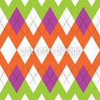 Zig Zag Pattern Seamless Vector Pattern Design