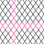 Criss Crosses Seamless Vector Pattern Design