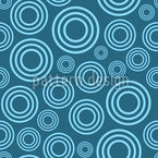 Drops Blue Nahtloses Vektormuster