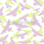 Dove Light Seamless Vector Pattern Design