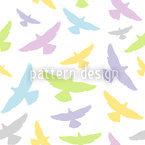 Dove Color Seamless Vector Pattern Design