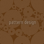 Outlined Circles Seamless Vector Pattern Design