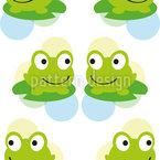 Frosch Zwillinge Vektor Design