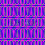 Purple Chains Seamless Vector Pattern Design