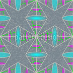 Lines And Lenses Seamless Pattern