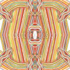 Farbstift Linien Nahtloses Vektormuster