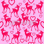 Little Fawn Seamless Pattern