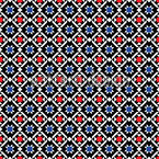 Scandinavie traditionnelle Motif Vectoriel Sans Couture
