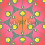 Red Dots Seamless Vector Pattern Design