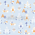 Toys Seamless Vector Pattern Design