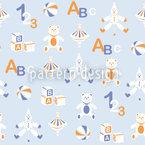 玩具 シームレスなベクトルパターン設計