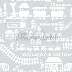 Railway Station Pattern Design