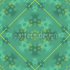 Grüne Patina Vektor Muster