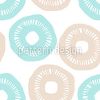 Sunshine Wheels Seamless Vector Pattern Design